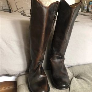 7.5 Frye riding boots